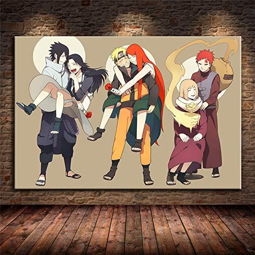 AJleil Puzzle 1000 Piezas Pintura de Arte decoración de Naruto Puzzle 1000 Piezas Animales Rompecabezas de Juguete de descompresión Intelectual Educativo divertido50x75cm(20x30inch)