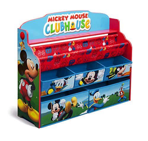 Disney Mickey Mouse Deluxe Boy & Toy Organizer - Delta Children