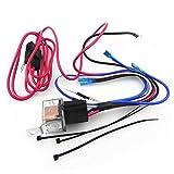 Leiyini Car-Audio-Lautsprecher-Kabelsatz Lautsprechermontage Verstärker Subwoofer Line Kit 10GA Netzkabel 80 AMP Sicherungshalter Kfz-Verstärker-Kabelsätze Kfz-Lautsprecherkabelanschlüsse