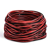 65.6ft Extension Cable Wire Cord JACKYLED 20M 22AWG Wire Cord for Led Strips Single Color 3528 5050