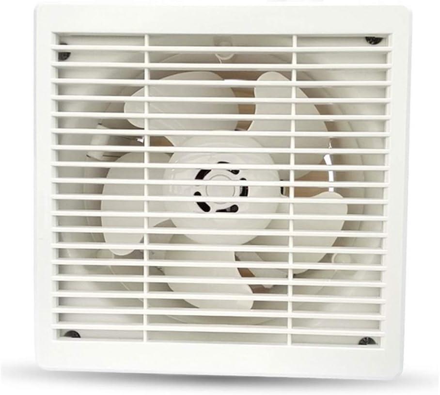 QIQIDEDIAN Ventilador de 6 Pulgadas Ventilador de ventilación, baño, Cocina, Extractor, Inodoro, Extractor, Ventilador, baño, Interior, Ronda, 160