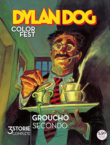 #MYCOMICS Dylan Dog Color Fest N° 34 – Groucho Secondo - Sergio Bonelli Editore – Italiano