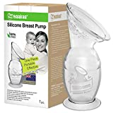 Haakaa Manual Breast Pump with Suction Base Breastfeeding Milk Pump(4oz/100ml)