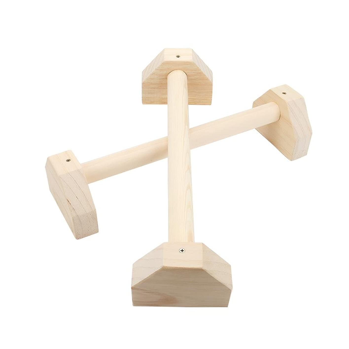 数値飼い慣らす大工ロシア 倒立バー 体操 フィットネス プッシュアップ 逆スタンド 木製平行棒 腹筋ローラー 大胸筋 腹筋 筋トレ 肉体改造 腕立てスタンド 2サイズ可選