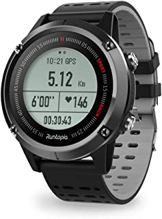 runtopia S1 Outdoor Running GPS Smart Watch with Heart Rate Monitor, Maps GPS Tracking Running and Professional Guidance for Entry Level Runners. Your multisport partner for running, cycling and walki