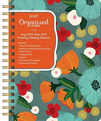 Posh: Deluxe Organizer 17-Month 2020-2021 Monthly/Weekly Planner Calendar: So Much Gratitude