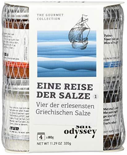 Salt Odyssey Combo Griechische Salze 4 X 80gr, 320 g