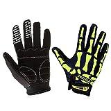 asx Handschuhe für Herren, Vollfinger, Motorrad-Winterhandschuhe, Touchscreen, Motorradrennen,...