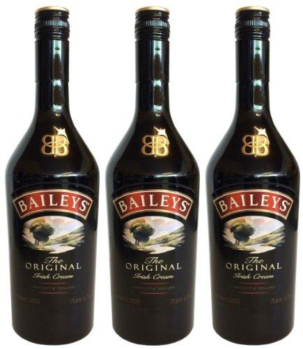 BAILEYS Original Irish Cream Liqueur (3 X 0,7L) - Creme Likör 17 % Vol.