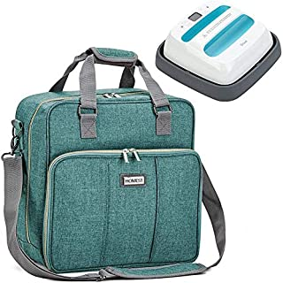 HOMEST Heat Press Machines Storage Bag, Compatible with Cricut 9x9 inches Easy Press 2, Green (Patent Pending)