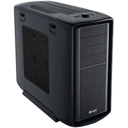 Corsair Graphite Series 600T Mid-Tower Gaming Computer Case with Mesh Side Panel CC600TM
