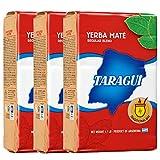 Taragui aparean paquete rojo sabor regular (hojas de t? y tallos de entrada) 500gx3 piezas