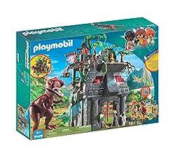 1. PLAYMOBIL Hidden Temple with T-Rex Building Set