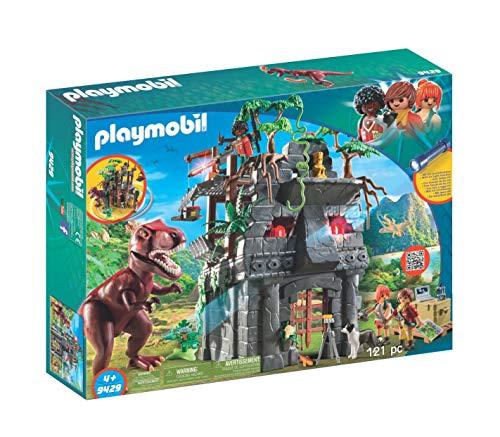 PLAYMOBIL Dinos Campamento Base con Rex