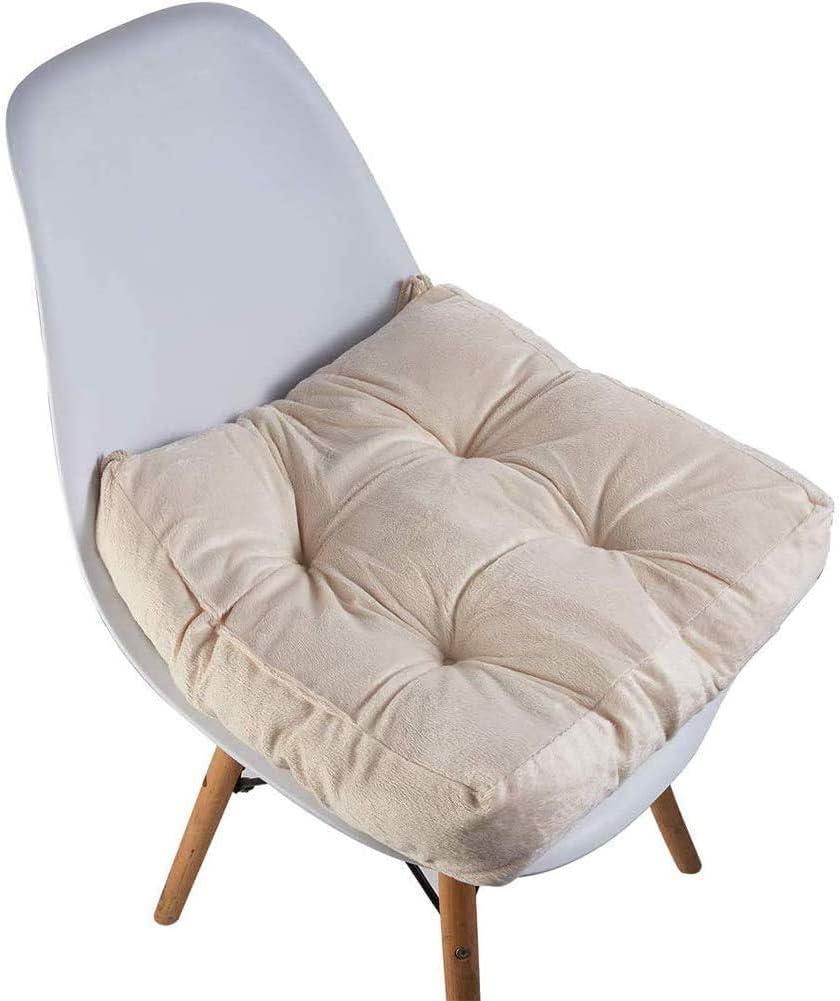 FHKBB Coussin de siège Confort - Coussin de Coussin de Fauteuil Doux pour Un Meilleur Confort d'assise, Coussin de siège en Coton G