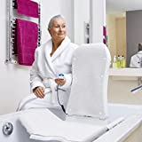 Badewannenlifter Invacare Aquatec KOGIA inkl. Bezugs-Set weiß ( Nachfolgemodell des Badelifters Beluga )