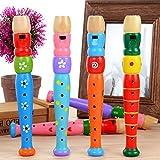LOVEYue 1 Pieza De Trompeta De Madera Buglet Hooter Bugle Instrumento De Música Juguete Educativo para Niños, Juego De Regalo De Juguete Intelectual Niños Color Aleatorio