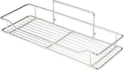 Bathroom Fixtures Bathroom Shelf Adhesive Lightweight Multi-functional Organizer Storage Commodity Shelf Rack For Bathrooms Balcony Kitchen