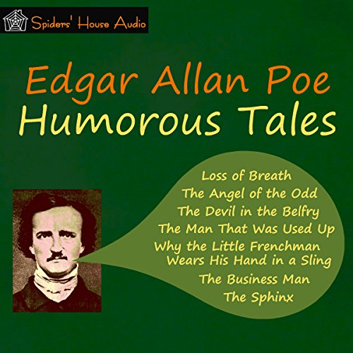 Humorous Tales audiobook cover art