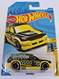 Hot Wheels 2018 50th Anniversary Checkmate Fandango (Rook) 212/365, Black and Yellow