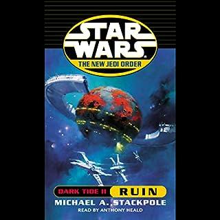 Star Wars: The New Jedi Order: Dark Tide II: Ruin cover art
