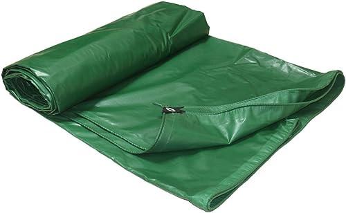 LQQGXL Toile de bache de bache de Toile imperméable à l'eau Verte de bache de Toile Verte de bache de Prougeection en Bois Bache imperméable à l'eau