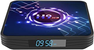 H9 X3 Android 9.0 8K Smart TV BOX 4GB RAM 32GB ROM UltraHD HDR 5G wifi Amlogic S905X3
