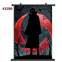 NARUTO-ナルト-アニメスクロールポスター防水リールマンガ壁装飾ファンはギフトを収集します19.7x29.5inch / 50x75cm