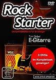 Das Rockstarter Vol. 1-3 Komplettset - E-Gitarre: 3 DVDs! Gitarrenschule. Unterricht für Anfänger....