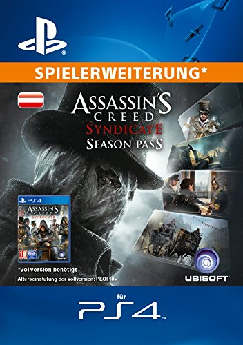 Assassin's Creed Syndicate - Season Pass [Spielerweiterung] [PS4 PSN Code - österreichisches Konto]