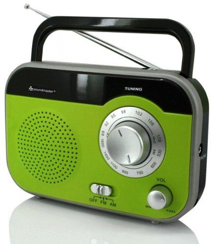 Soundmaster TR410GR tragbares Radio mit...