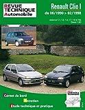 E.T.A.I - Revue Technique Automobile 115 - RENAULT CLIO I PHASE 1 - 1990 à 1998