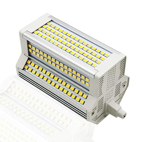 Bombilla LED R7S 118 mm, Bombillas LED Regulables Tipo J de Doble Extremo de 50 W, Reflector halógeno J118 de 500 W, lámpara de Repuesto Blanca cálida de 3000 K