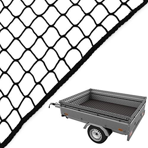 Anhängernetz 3,5 x 5,0 m Caretec® Gepäcknetz Abdecknetz zur Ladungssicherung