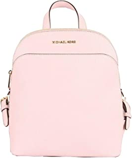 Michael Kors Women's Emmy Large Leather Backpack Blossom