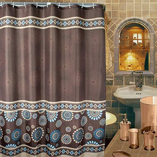 YXN Polyester douchegordijn douchegordijn bruin waterdicht polyester douchegordijn wc-gordijn