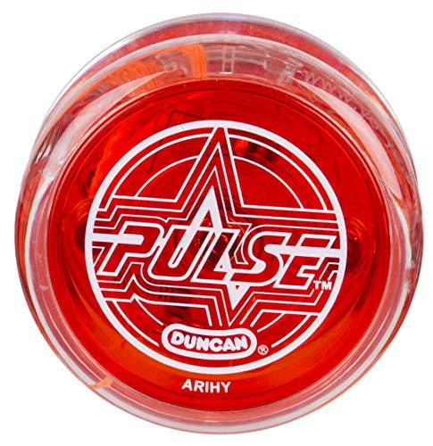 Duncan Toys Pulse LED Light-Up Yo-Yo, Intermediate Level Yo-Yo with Ball Bearing Axle and LED...