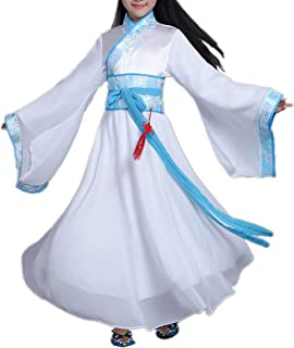 Girls Child Ancient Chinese Traditional Cosplay Costumes Hanfu Princess Fancy Dress