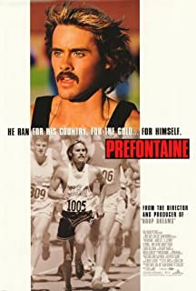Prefontaine Movie Poster (27 x 40 Inches - 69cm x 102cm) (1996) -(Jared Leto)(R. Lee Ermey)(Ed O'Neill)(Amy Locane)(Lindsay Crouse)(Laurel Holloman)