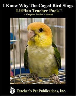 I Know Why the Caged Bird Sings LitPlan - A Novel Unit Teacher Guide With Daily Lesson Plans (LitPlans on CD)