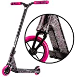Type R Complete Pro Scooter - Pro Scooters - Pro Scooters for Adults / Pro Scooters for Kids - Quality Scooter Deck, Pro Scooter Wheels, Pro Scooter Bars - Awesome Colors (Black/Pink/White)