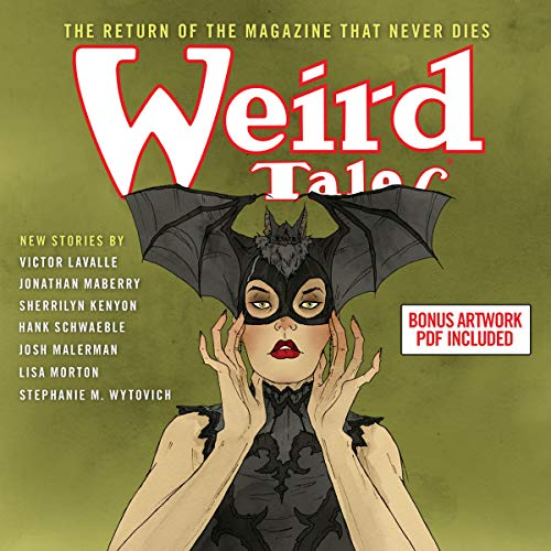 Weird Tales audiobook cover art