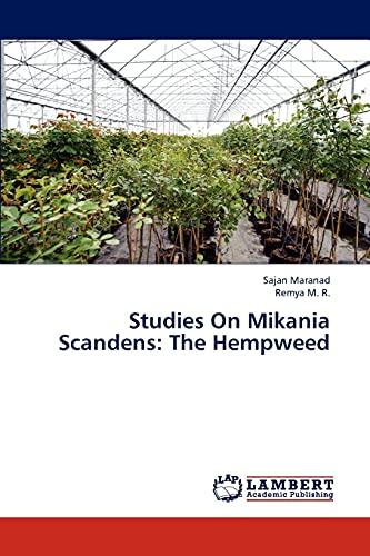 Studies On Mikania Scandens: The Hempweed