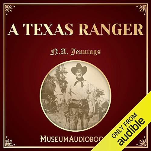 A Texas Ranger audiobook cover art