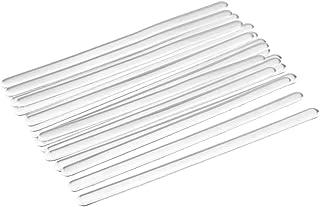 Artibetter Clip per Ponte Nasale 200 Pezzi Copricerniera Cinghie per Naso Regolabili Clip per Naso per Industria Domestica Fai da Te Allaperto