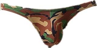 iZHH Fashion Mens Briefs Underwear Bulge Camouflage Print Sports Underpants