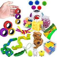 Magnetische ringen Fidget-speelgoed, pakket van 3, perfecte magnetische Fidget-ringen, ideaal ADHD Fidget-speelgoed,...