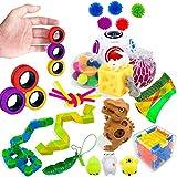 Useqeddjs Juego de 23 juguetes para aliviar el estrés, autismo, ansiedad, estrés, juguetes para niños y adultos