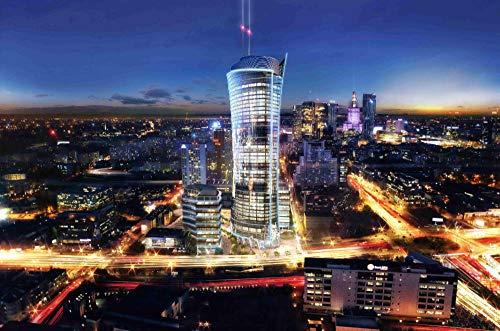 PJCNEW Stichsäge Stichsäge 1000 Stück Warschauer Stadtlandschaft Für Erwachsene Freunde