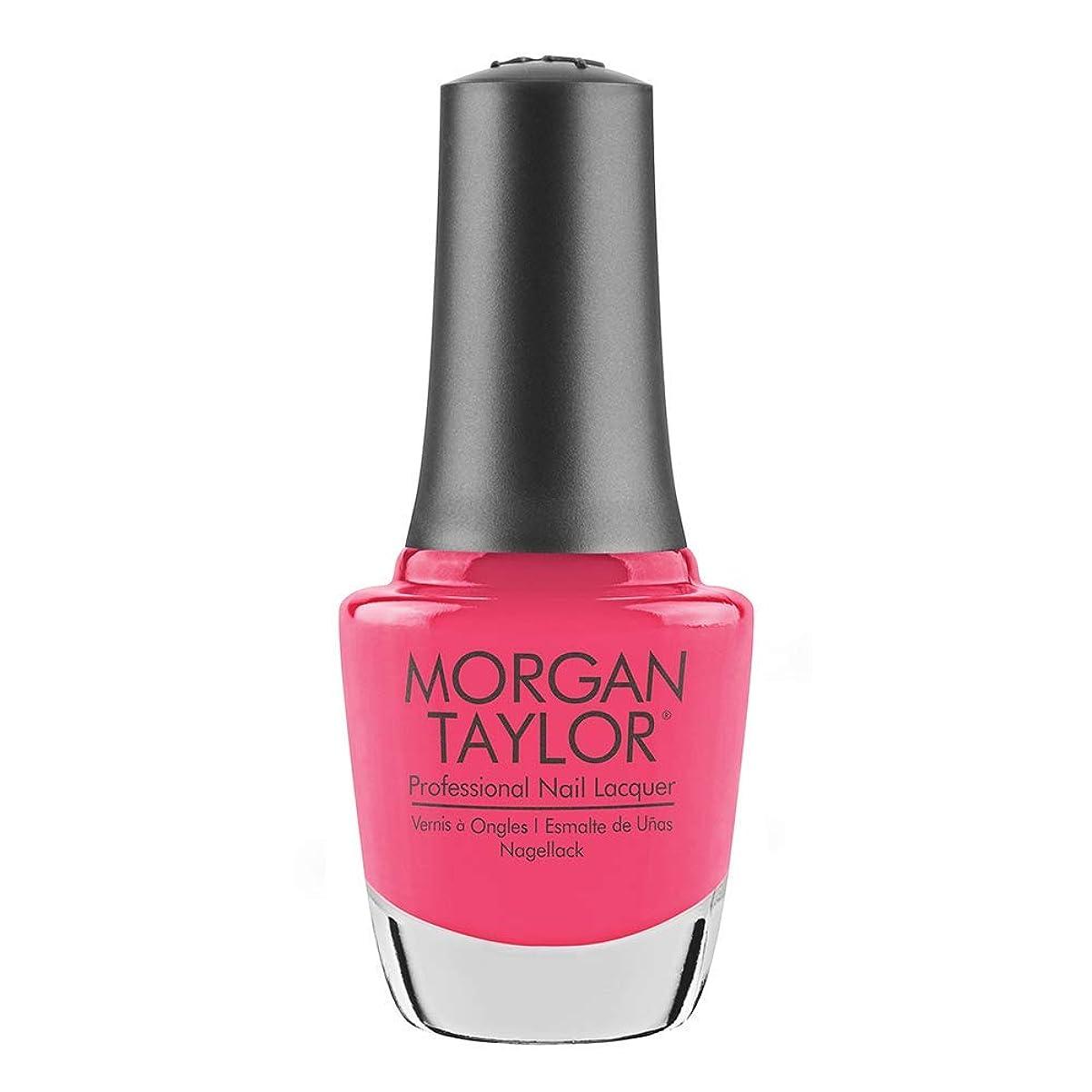 パーク名誉ある効果Morgan Taylor - Professional Nail Lacquer - Pretty As A Pink-ture - 15 mL / 0.5oz